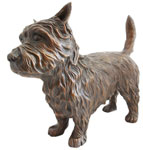 Click here to see bronze Cairn Terrier!