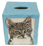 Turn any cat into a Tissue Box Cover!