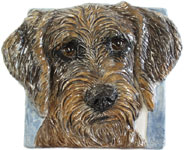 Imagine your dog painted on this tile!