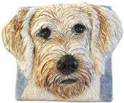 Imagine your dogs painted on this tile!