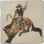 click here to see Saddle Bronc Riding Tiles!