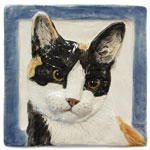 Dog Tiles Urns Treat Jars Tissue Box Covers Ceramic